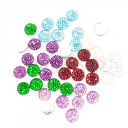 Круг с пупырышками цветной 0,8 см