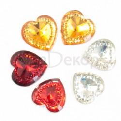 Сердце бриллиант 1,6 см