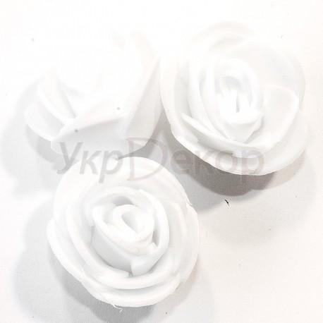Головка розочки из фоамирана 2,5-3,0 см