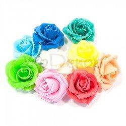Головка розы UD 008 из латекса 5,0 см