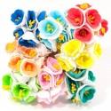 Букетик цветков двухцветный Дивоцвіт 072