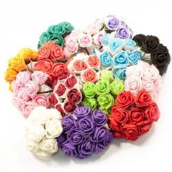 Букет роз из латекса 3,5 см 11007