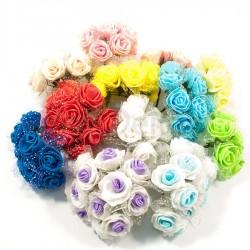 Букет роз из латекса 3,5 см 11007 S