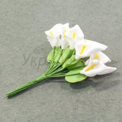 Букетик цветков каллы с листиком