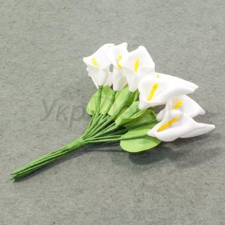 Бутик цветков каллы с листиком