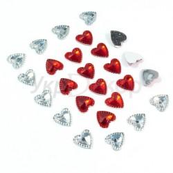 Серединка сердце граненое с пупырками