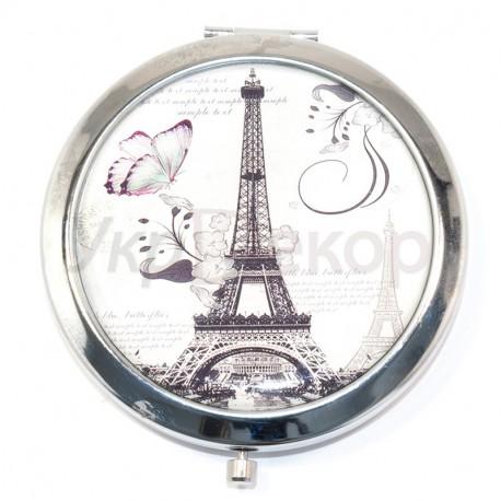 Зеркало карманное ПАРИЖ №1952