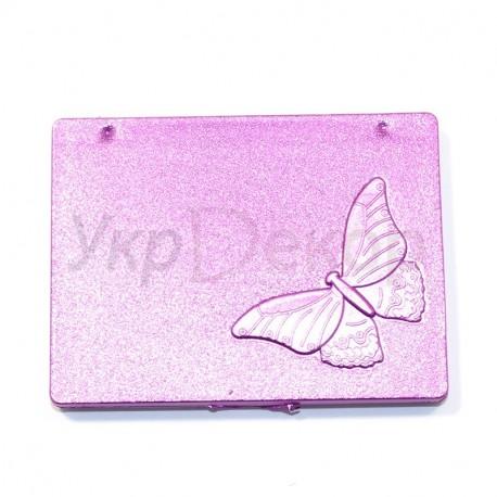 Зеркало карманное бабочка №1948