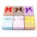 Картонные коробочки для украшений и подарков №33687.