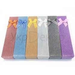 Картонные коробочки для украшений и подарков №33601.