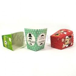 Коробочки для поп-корна, картонные