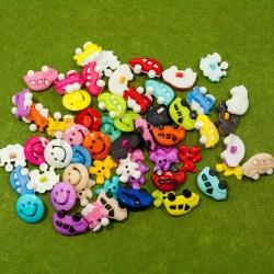 Пуговицы пластмасовые детские SK большие