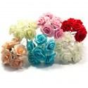 Букет роз из фоамирана SK 5 см