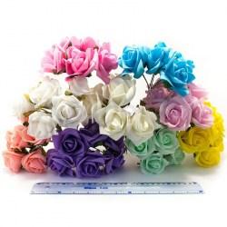 Букет роз из фоамирана SK 6 см