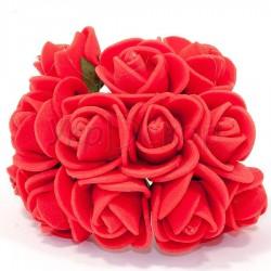 Букет роз из латекса 1,5 см 08034 144 шт