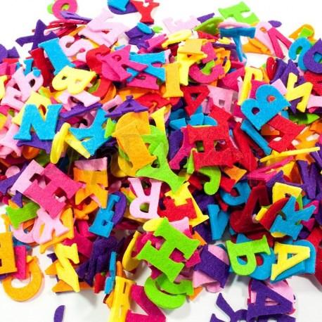Буквы и цифры из фетра 2 мм.