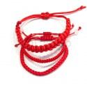 Браслеты плетеные из ниток