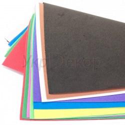 Набор цветного фоамирана 1 мм. 10 листов. Микс.