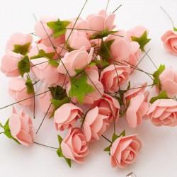 Розы из латекса 3,5 см 11007 UD